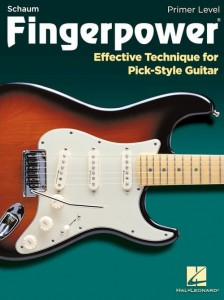 Fingerpower Primer Level: Effective Technique for Pick-Style Guitar - ćwiczenia gry kostką na gitarę elektryczną