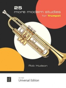 Rob Hudson: 25 More Modern Studies for trumpet - nuty na trąbkę