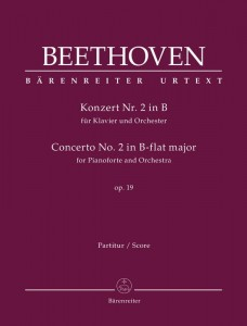 Beethoven: Concerto No. 2 in B-flat major for Pianoforte and Orchestra op. 19 - II koncert fortepianowy B-dur Beethovena - nuty na fortepian i orkiestrę - partytura
