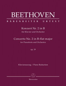 Beethoven: Concerto No. 2 in B-flat major for Pianoforte and Orchestra op. 19 - II koncert fortepianowy B-dur Beethovena - nuty na dwa fortepiany