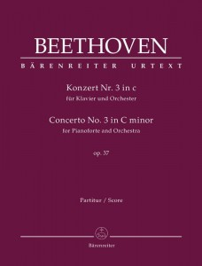 Beethoven: Concerto No. 3 in C minor for Pianoforte and Orchestra op. 37 - III koncert fortepianowy c-moll Beethovena - nuty na fortepian i orkiestrę - partytura