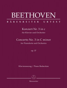 Beethoven: Concerto No. 3 in C minor for Pianoforte and Orchestra op. 37 - III koncert fortepianowy c-moll Beethovena - nuty na dwa fortepiany