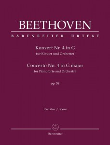 Beethoven: Concerto No. 4 in G major for Pianoforte and Orchestra op. 58 - IV koncert fortepianowy G-dur Beethovena - nuty na fortepian i orkiestrę - partytura