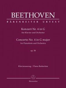 Beethoven: Concerto No. 4 in G major for Pianoforte and Orchestra op. 58 - IV koncert fortepianowy G-dur Beethovena - nuty na dwa fortepiany