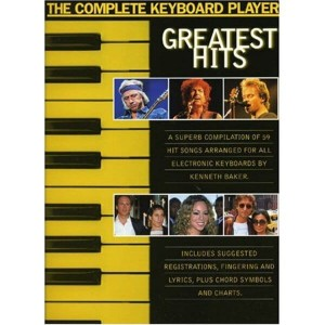The Complete Keyboard Player: Greatest Hits - nuty na keyboard