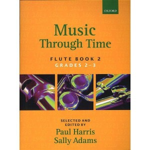 Music Through Time Flute Book 2 - nuty na flet z akompaniamentem