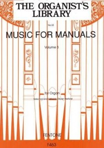 Music for Manuals Volume 3 - Bryan Hesford - nuty na organy