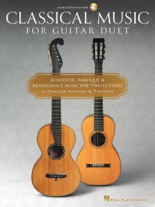 Classical Music for Guitar Duet (+ audio online) - nuty na duety gitarowe