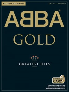 Abba Gold: Greatest Hits - Flute Play-Along (+ audio online) - nuty na flet poprzeczny