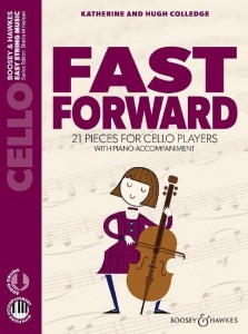 Fast Forward - 21 pieces for Cello players - Colledge (+ audio online) - nuty na wiolonczelę z fortepianem - księgarnia muzyczna Alenuty.pl