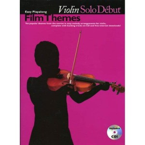 Solo Debut: Film Themes - Easy Playalong Violin - nuty na skrzypce (+ audio online)