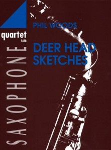 Phil Woods: Deer Head Sketches for Saxophone Quartet SATB - nuty na kwartet saksofonowy