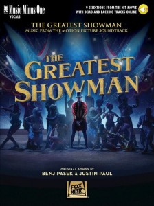 The Greatest Showman - 9 Selections from the Hit Movie (+ audio online) - piosenki z filmu Król rozrywki - nuty na głos z fortepianem