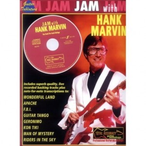 Jam with Hank Marvin - nuty i tabulatury na gitarę (+ płyta CD)
