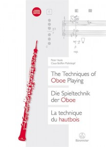 The Techniques of Oboe Playing - Peter Veale, Claus-Steffen Mahnkopf (+ płyta CD) - przewodnik po technikach gry na oboju