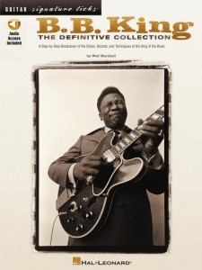 Guitar Signature Licks: B.B. King The Definitive Colection -  Wolf Marshall - nuty i tabulatury na gitarę (+ audio online)