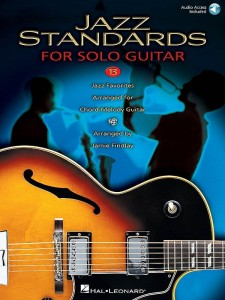 Jazz Standards For Solo Guitar (+ audio online) - Jamie Findlay - standardy jazzowe na gitarę - nuty i tabulatura