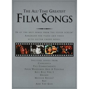 The All-Time Greatest Film Songs - nuty na fortepian