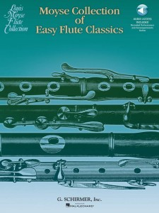 Moyse Collection of Easy Flute Classics (+ audio online) - nuty na flet poprzeczny z fortepianem