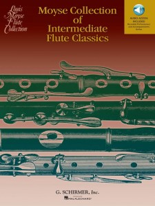 Moyse Collection of Intermediate Flute Classics (+ audio online) - nuty na flet poprzeczny z fortepianem