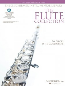The Flute Collection - Easy To Intermediate Level (+ audio online) - nuty na flet poprzeczny z fortepianem