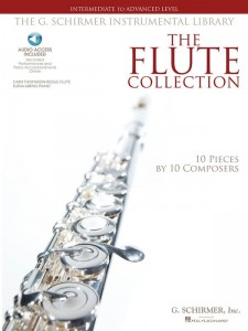 The Flute Collection - Intermediate to Advanced Level (+ audio online) - nuty na flet poprzeczny z fortepianem
