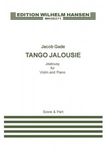 Jacob Gade: Tango Jalousie - Jealousy for Violin and Piano - nuty na skrzypce i fortepian