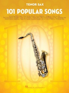 101 Popular Songs: Tenor Sax - nuty na saksofon tenorowy