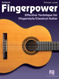 Fingerpower Primer Level: Effective Technique for Fingerstyle / Classical Guitar - ćwiczenia na gitarę klasyczną i fingerstyle