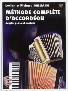Galliano: Methode complete d'accordeon (+ płyta CD) - szkoła gry na akordeonie
