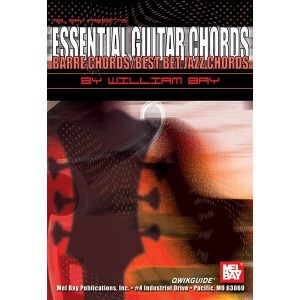 Qwikguide - Essential Guitar Chords - Barre Chords / Best Bet Jazz Chords - Bay