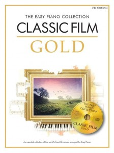 The Easy Piano Collection: Classic Film Gold (+ płyta CD) - łatwe nuty na fortepian