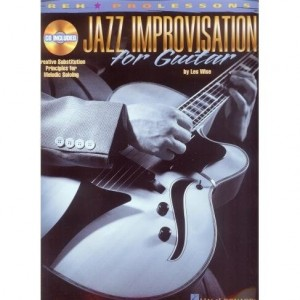 Jazz Improvisation for Guitar - Les Wise (+ płyta CD)
