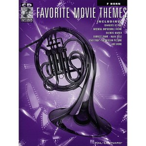 Favorite Movie Themes: French Horn (+ płyta CD) - muzyka filmowa na róg (waltornię)