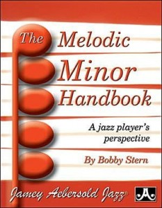 Jamey Aebersold Jazz The Melodic Minor Handbook