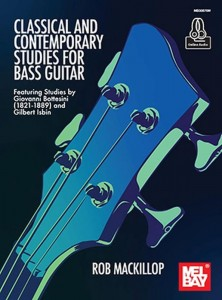 Giovanni Bottesini, Gilbert Isbin: Classical and Contemporary Studies for Bass Guitar - MacKillop (+ audio online) - etiudy na gitarę basową
