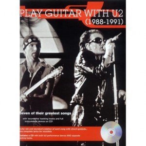 Play Guitar with U2 (1988-1991) - nuty i tabulatury na gitarę (+ płyta CD)