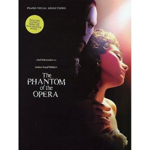 Andrew Lloyd Webber: The Phantom Of The Opera - Vocal Selections - muzyka z filmu Upiór w Operze na głos i fortepian