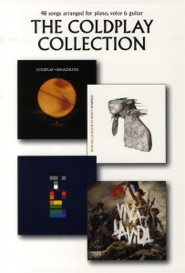 The Coldplay Collection - melodia, chwyty gitarowe z tabulaturami, teksty