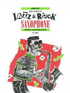 Rae: Easy Studies in Jazz & Rock for Saxophone - nuty na saksofon