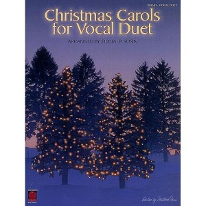 Christmas Carols for Vocal Duet - nuty na duet wokalny z fortepianem