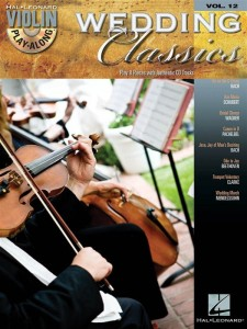 Wedding Classics - Violin Play-Along Volume 12 - nuty na skrzypce (+ płyta CD)