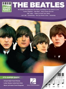 Super Easy Songbook: The Beatles - proste nuty literowe na pianino lub keyboard - 60 piosenek