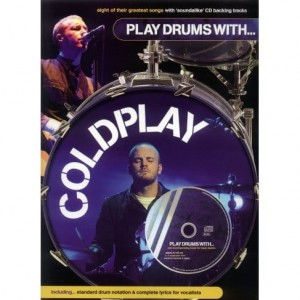 Play Drums with Coldplay - nuty na perkusję (+ płyta CD)