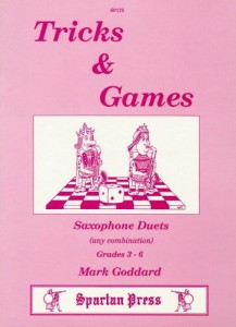 Goddard: Tricks and Games for saxophone duets - duety saksofonowe