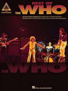 Best Of The Who - nuty na gitarę z tabulaturą i akordami