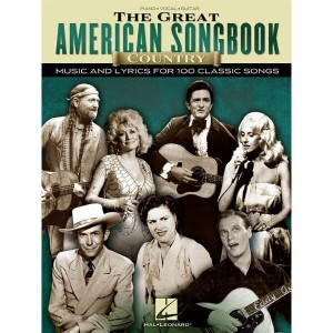 The Great American Songbook: Country Music And Lyrics For 100 Classic Songs - nuty na fortepian, głos i akordy gitarowe