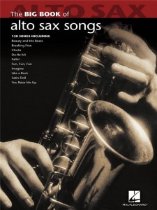 The Big Book Of Alto Sax Songs - nuty na saksofon altowy solo