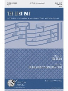 Ola Gjeilo - The Lake Isle - nuty na chór SATB