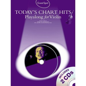 Guest Spot: Today's Chart Hits Playalong for Violin - nuty na skrzypce (+ płyta CD)
